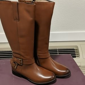 Clark's plaza steer brown leather size 7.5m